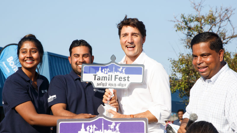 Prime Minister Justin Trudeau's Speech at 3rd Annual Tamil Fest – August 26, 2017.